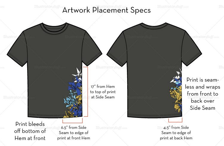 how to prepare artwork for t-shirt screen printing